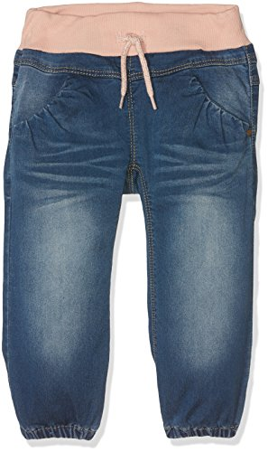 NAME IT Baby-Mädchen Jeans NITBOLET Bag/XR DNM Pant MZ NOOS, Blau (Medium Blue Denim Detail:Evening Sand), 104