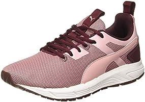 Puma Women's Progression Duo Wn s IDP Vineyard Wine-B Pink-White Running Shoes-6 UK (39 EU) (7 US) (19336201)