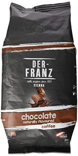 Der-Franz Kaffee, aromatisiert mit natürlicher Schokolade UTZ, ganze Bohne, 1000g