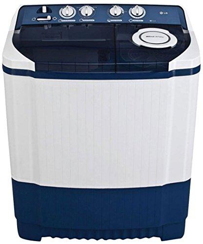 LG 8.0 kg Semi-Automatic Top Loading Washing Machine (P9037R3SM, Dark Blue)