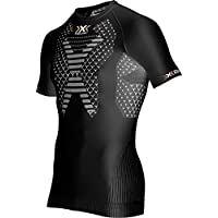 X-Bionic Camiseta Twyce OW, Hombre, para Correr, 2017, Primavera/Verano, Hombre, Color Blanco/Negro, tamaño Extra-Large