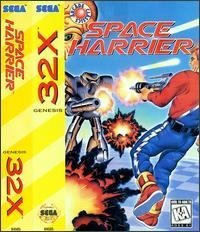Space Harrier [Sega Megadrive] by Sega