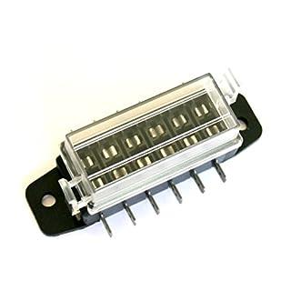 6-24V ATP 6-fach Sicherungsblock Sicherungskasten Halter Verteiler Neu 20A Max. Service2mm