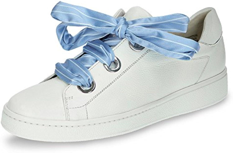 Paul Green 4575-002 Damen Modischer Sneaker aus Weichem Glattleder Lederfutter