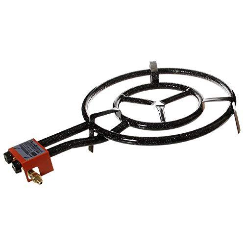 GASBRENNER 2-FLAMMIG, 50cm Durchmesser, 14,10KW LEISTUNG, für Paella, etc.