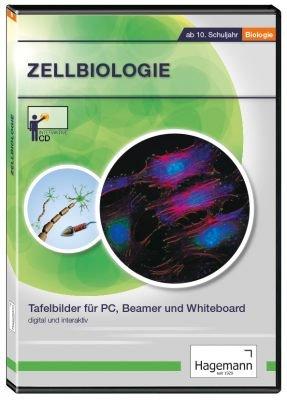 Zellbiologie - Interaktive Tafelbilder auf CD-ROM für PC, Beamer und Whiteboard - Hagemann 192290 - Einzel- und Schullizenz