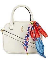 global desi Women's Sling Bag (White)