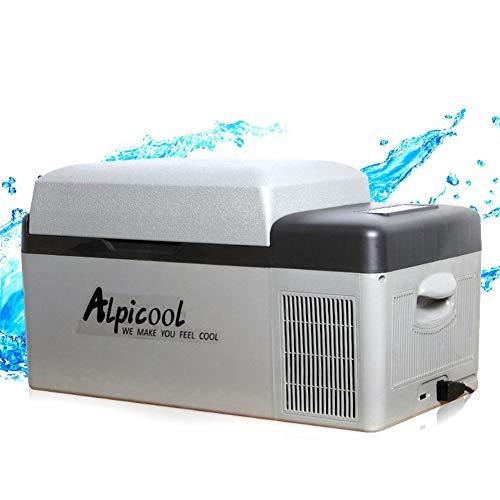 Réfrigérateur de Voiture, 12V / 24V Portable Compresseur Réfrigérateur De Voiture App Control Mini Multifonction Maison Cooler Congélateur, 20L
