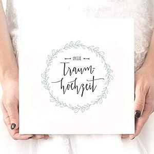 Hochzeitsalbum gestalten – Unsere Traumhochzeit, Erinnerungsalbum, Geschenk zur Hochzeit, Hochzeitsgeschenk, für das Brautpaar