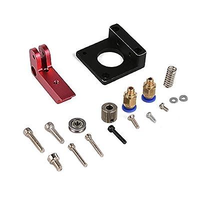 XCSOURCE Linke Hand MK8 Fernbedienung Extruder 1.75/3mm Kit für 3D Drucker Makerbot Reprap Vollmetall TE428