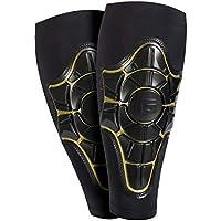 G-Form Pro-X Espinilleras - Negro/Armarillo, XL