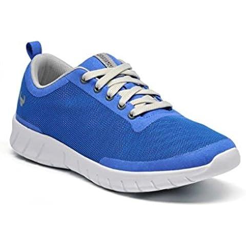 Zueco calzado con tecnología Health Tech modelo Alma color azul talla 41