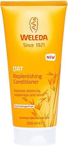 WELEDA Hafer Aufbau-Spülung, Pflege Haarspülung verleiht Elastizität, Widerstandsfähigkeit und Glanz, das Naturkosmetik Haaröl verbessert die Kämmbarkeit (1 x 200 ml)
