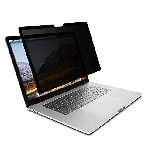 MOSISO 13 Pouces Filtre Confidentialité, Film de l'écran Compatible avec 2010-2018 MacBook Air, 2012-2015 MacBook Pro Retina / 2016-2019 MacBook Pro 13 USB-C, Anti-Reflets Anti-Rayures Protecteur