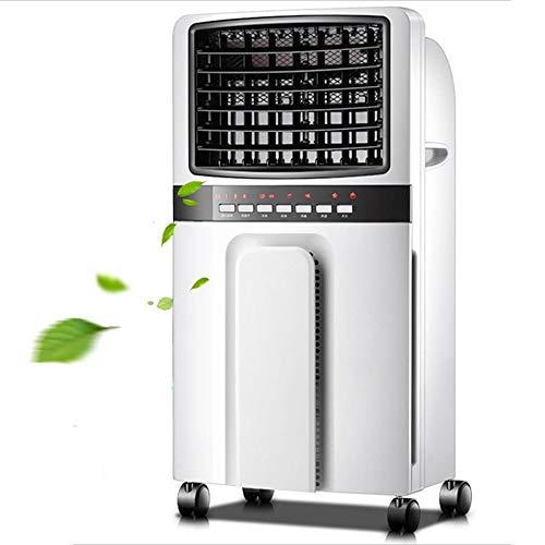 WLJ Klimaanlage Multifunktionsheizung, mobil mit Fernbedienung Zeitsteuerung Klimaanlage 3-stufige Einstellung Tragbarer Luftkühler Luftkühler Ventilator