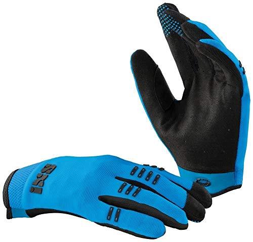 IXS BC-X3.1 Kids Gloves Fluo Blue KXL, Guanti Unisex Adulto, Blu, XL