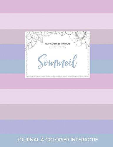 Journal de Coloration Adulte: Sommeil (Illustrations de Mandalas, Rayures Pastel) par Courtney Wegner