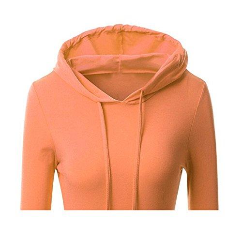 YL - Sweat-shirt - Femme Orange