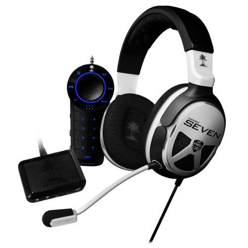 Turtle Beach Ear Force XP7 - Auriculares de diadema cerrados USB (control remoto integrado), negro