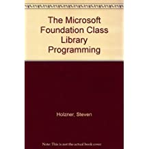 The Microsoft Foundation Class Library Programming