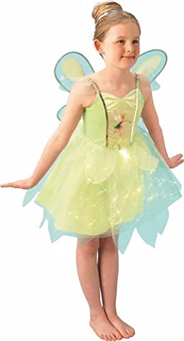 Rubie's - I-883766M - Costume - Disney Fairies Light up - Jupe avec Fibres Optiques - Taille M