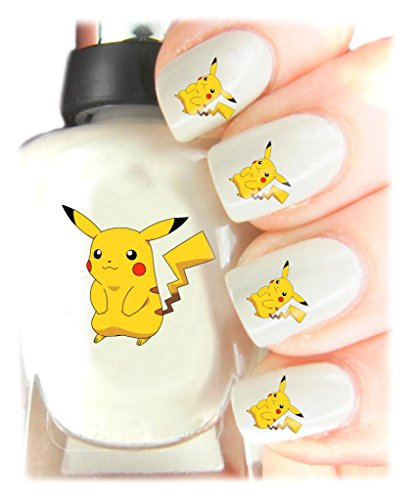 Scopri offerta per Easy to use, High quality nail art Decal adesivi per ogni occasione. Ideal Christmas present/Gift - Great stocking filler Pikachu