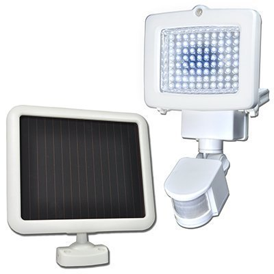 lampes solaires à détecteur de mouvements Sunforce Products 82080 80 LED solaire Flood Light