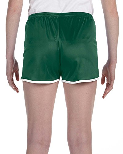 Russell Athletic Dazzle courtes pour femmes Bleu - Dark Green/White