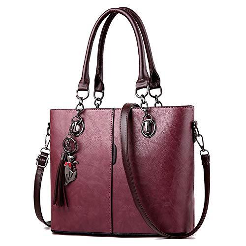 WERERFG Luxus Handtaschen Frauen Tasche Designer 2018 Große Damen Handtasche Für Frauen Feste Schultertasche Outlet Europa Leder Handtasche