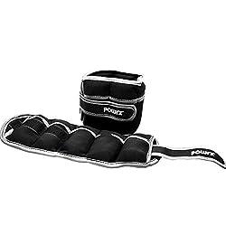 Weight cuffs 2 kg (pair) Foot + hand weights * adjustable * Running weights