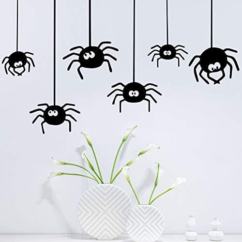 GZZQTT Halloween Spinne Wand Aufkleber Partei Dekorative Aufkleber DIY Wand Kunst Aufkleber Dekoration Dekoration Party Hochzeit Decor