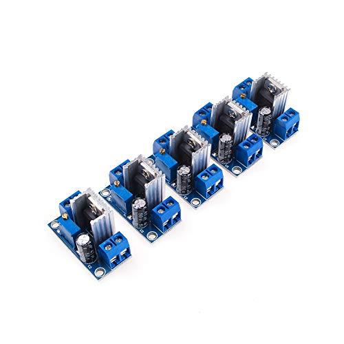 ANGEEK LM317 - Regulador de voltaje (CC-DC, 1,5 A, 1,2~37 V, Converter...