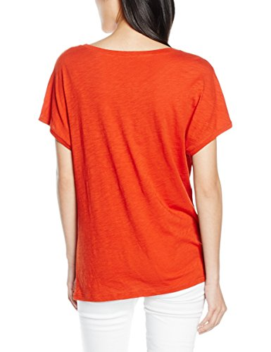Marc O'Polo 606215551167, T-Shirt Femme Rot (red clay 314)