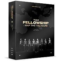 ATEEZ – ATEEZ World Tour The Fellowship: MAP The Treasure Seoul DVD+juego de tarjetas de fotos adicionales