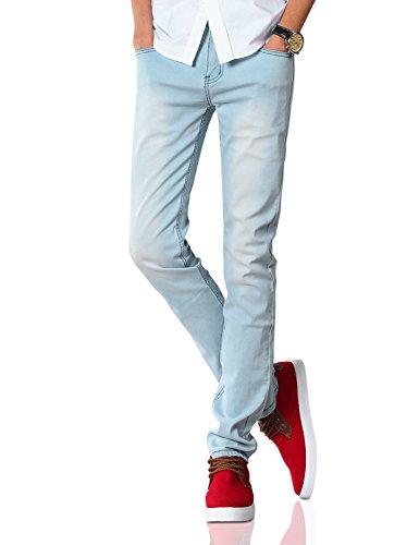 Demon and Hunter 808 Serie Herren Dünn Schlank Jeanshose Jeans DH8008(31) (Skinny Jeans Schlank Gerade)