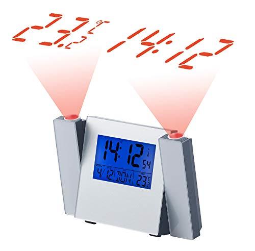 PEARL Projektor Uhr: Funk-Wecker mit Zeit- & Temperatur-Projektion, gebraucht kaufen  Wird an jeden Ort in Deutschland
