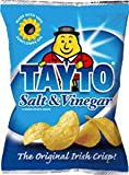 TAYTO SALT AND VINEGAR CRISPS 8 X 35g PACKS