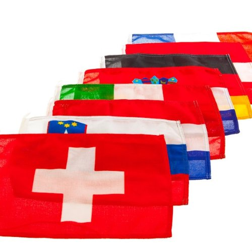 Mare Mosso Gastlandflagge nautische Flagge Bootsflagge Länderflagge Fahne, Maße:20 x 30 cm, Land:Italien