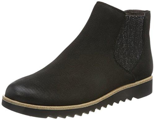 Tamaris Damen 25300 Chelsea Boots, Schwarz, 39 EU