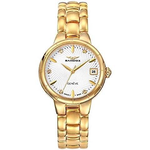 Reloj Suizo Sandoz Señora 81320-27 Classic Box