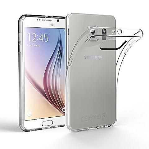 Samsung Galaxy S6 Hülle Case, EasyAcc Liquid Crystal Ultra Dünn Crystal Clear Transparent Handyhülle Cover Soft Premium-TPU Durchsichtige Schutzhülle Backcover Slimcase für Samsung Galaxy