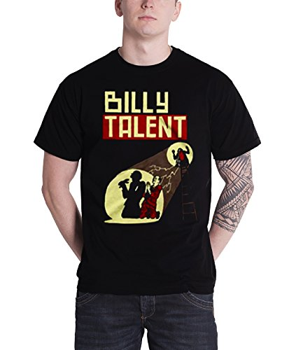 Plastic Head Billy Talent Spotlight, T-Shirt Uomo, Nero, XX-Large