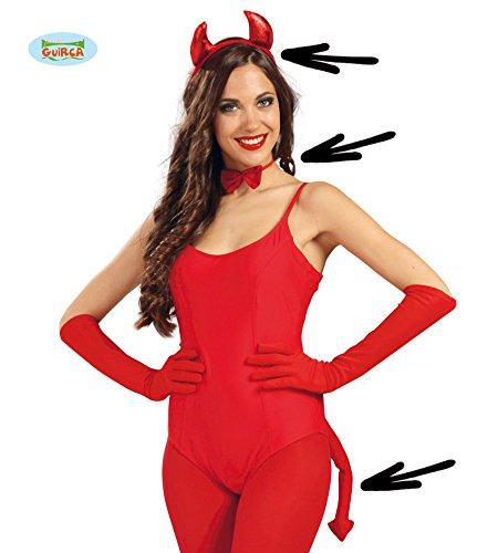 Teufel Hörner Halloween (Fiestas Guirca GUI16470 -)