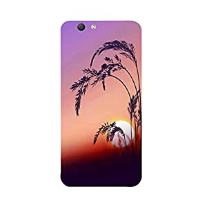 Skintice Designer Back Cover with direct 3D sublimation printing for Oppo F1S