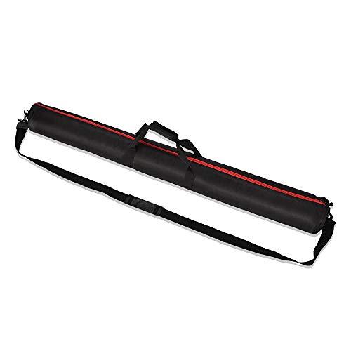 UTEBIT Stativtasche 120CM Gepolstert Wasserdicht Lichtstativ Tasche Stativ Tragetasche 1680D Oxford Stoff Tripod Bag für Light Stand, Stativ, Fotostudioausrüstung -