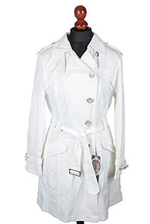 Trench gOLDIX manteau avec ceinture taille 38 (blanc)