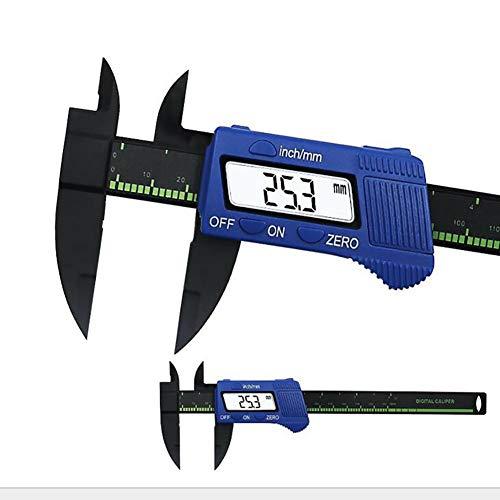 AGLTM Vernier Caliper Haute précision Affichage numérique électronique 0-150MM Conversion en mm/pouce IP54 résistant à l'eau,Blue -