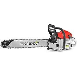 Greencut GS7500 24 Tronçonneuse 75 cc lame 61 cm 10 kg