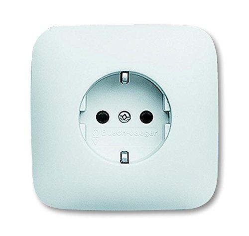 busch-jaeger-20euj-214-schuko-socket-outlet-full-cover-plate-alpine-white-reflex-si