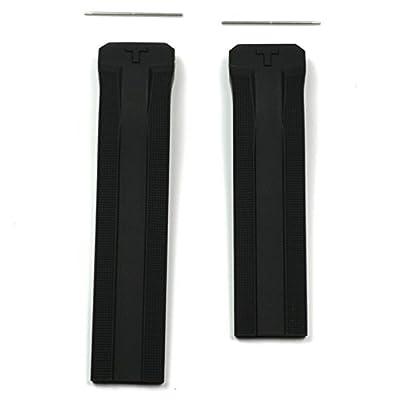 Correa caucho negra T610034733 Tissot T-Touch Expert Solar T091420A